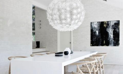 Mách bạn cách chọn đèn trang trí cho phòng ăn gia đình thêm xinh