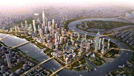 Quy hoạch cải tạo phát triển đô thị khu trung tâm thương mại CBD Tp Thiên Tân (Trung Quốc)