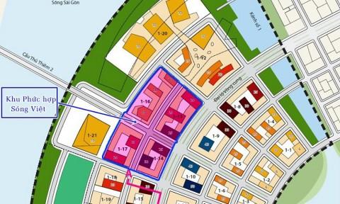 TP Hồ Chí Minh chấp thuận chủ đầu tư Dự án Phát triển khu phức hợp Sóng Việt