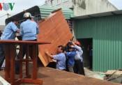 Cưỡng chế 3 công trình xây dựng không phép ở Bà Rịa – Vũng Tàu