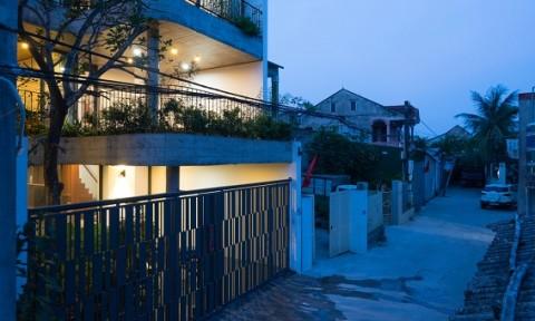 Choáng với ngôi nhà mỗi tầng được thiết kế như một khu vườn xanh mướt