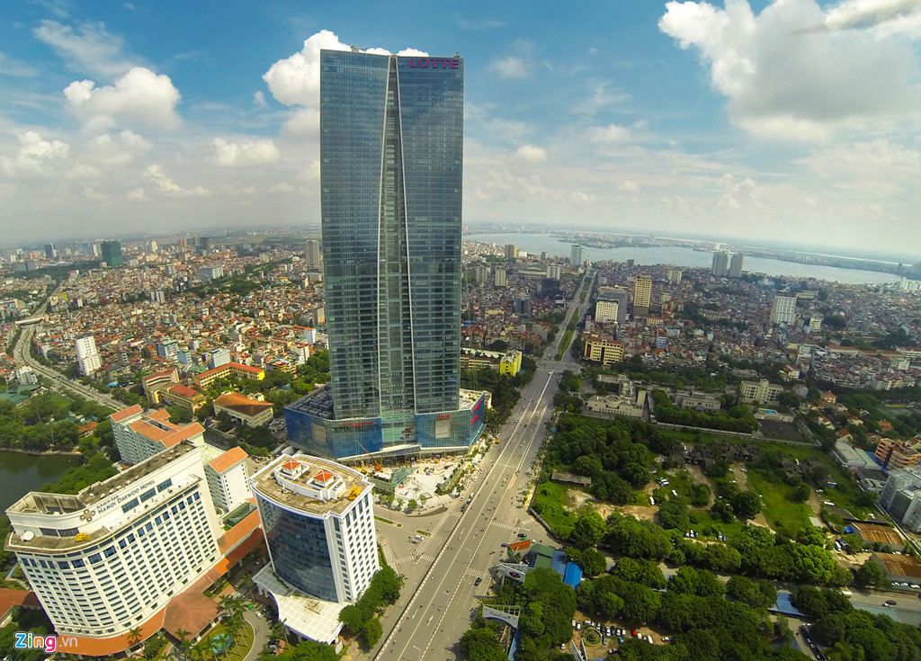 Tòa nhà Lotte Landmark tower quận Ba Đình, Hà Nội