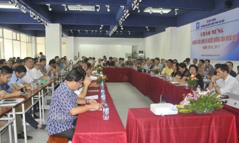 Trường Đại học Kiến trúc Hà Nội gặp mặt các nghiên cứu sinh và người hướng dẫn khoa học năm 2016, 2017