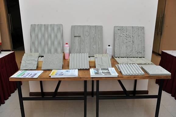 Một số sản phẩm khuôn tạo hoa văn bề mặt bê tông