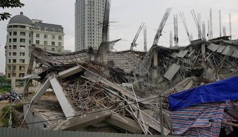 Bộ Xây dựng sẽ làm rõ nguyên nhân sập trường mầm non ở Hà Nội
