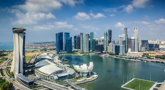 Khu trung tâm hành chính cao tầng Marina Bay (Singapore)