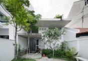 Chiêm ngưỡng căn nhà tận dụng vẻ đẹp của vật liệu tự nhiên