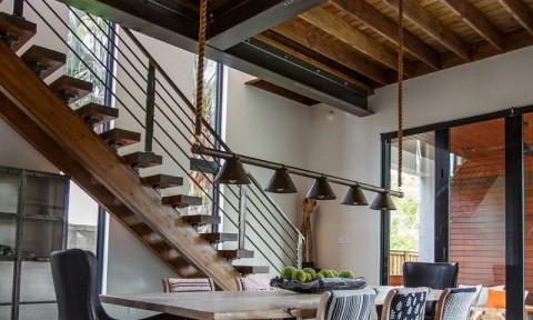 HoF -Ngôi nhà hiện đại với nội thất công nghiệp