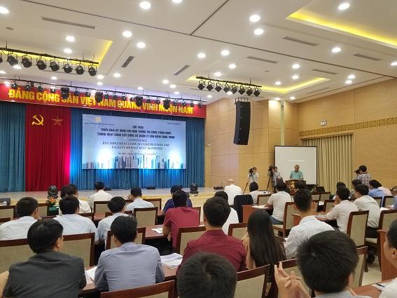"""Hội thảo """"Triển khai áp dụng Mô hình thông tin công trình BIM trong hoạt động xây dựng và vận hành công trình"""" tháng 09/2017 tại Hà Nội"""