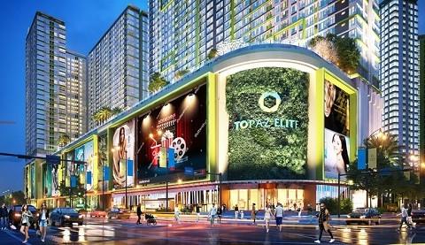 Topaz Elite xây dựng trung tâm thương mại 60.000m2 tại quận 8