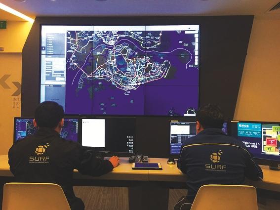 Văn phòng quản lý hệ thống giao thông thông minh trên cơ sở mô hình số về quản lý đô thị Singapore