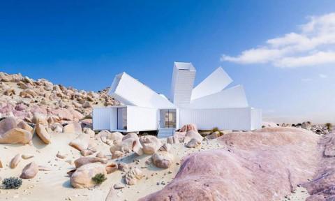Kiến trúc sư xây nhà tuyệt đẹp giữa sa mạc chỉ bằng container