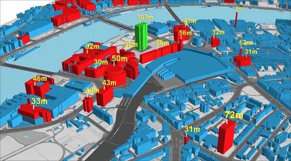 Mô hình BIM ứng dụng trong quản lý tầng cao đô thị (TP Thượng Hải, Trung Quốc)