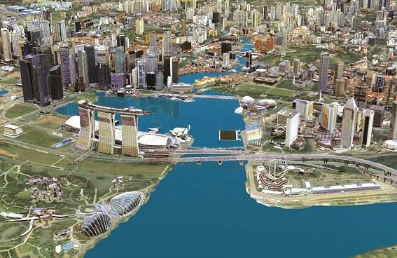 Mô hình quản lý đô thị trên nền tảng BIM và E Submission khu vực Marina Bay (Singapore)
