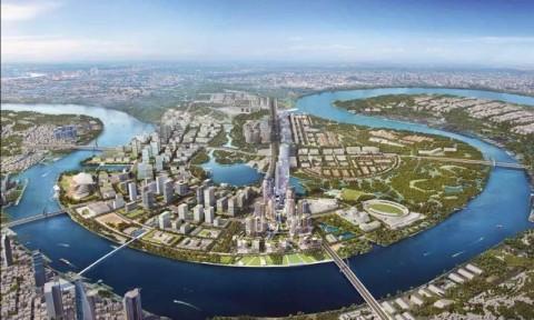 Thủ Thiêm: Khu trung tâm tài chính và khu đô thị phức hợp mới của TP.HCM