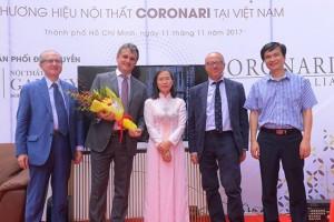 Galaxy chính thức phân phối độc quyền sofa Coronari Italia