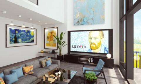 Phòng khách cho gia chủ có tâm hồn nghệ thuật