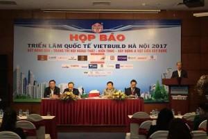 Sắp diễn ra triển lãm VIETBUILD Hà Nội 2017 lần thứ 3