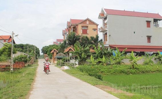 Điểm dân cư nông thôn mới