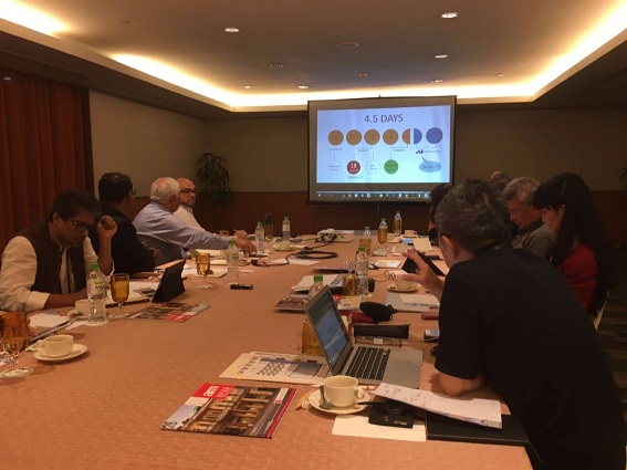 Ban tổ chức Arcasia 2017 họp chuẩn bị tại Malaysia, tháng 10/2017 vừa qua