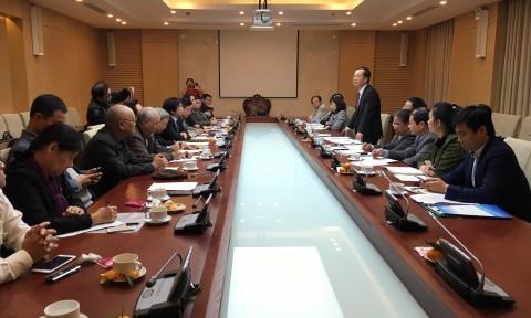 Bộ trưởng Phạm Hồng Hà làm việc với Hội Quy hoạch phát triển đô thị Việt Nam