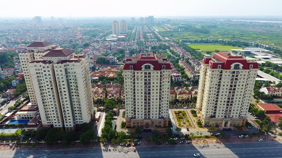 """Kiến trúc công trình cao tầng sử dụng mái """"Mansard"""" của kiến trúc cổ điển châu Âu"""