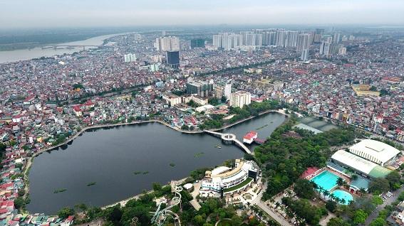 Quy hoạch cụm công trình cao tầng giữa các khu nhà thấp tầng khu vực quận Hoàng Mai, tp Hà Nội