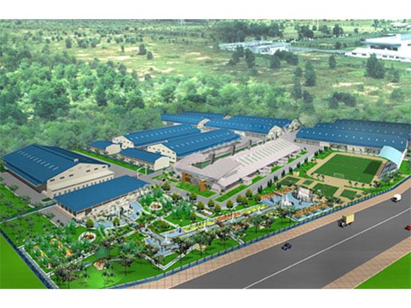 Công trình Nhà máy Changsin Vina - giầy Nike, KCN Thạnh Phú, Đồng Nai với giải pháp xanh của LG
