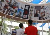 Triển lãm kiến trúc tại không gian Phố đi bộ Hồ Gươm