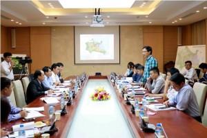 Thẩm định Đồ án quy hoạch chung thị xã Kỳ Anh, tỉnh Hà Tĩnh