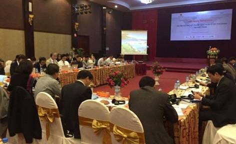 Hội nghị tham vấn Dự án hỗ trợ kỹ thuật quy hoạch đô thị xanh Việt Nam