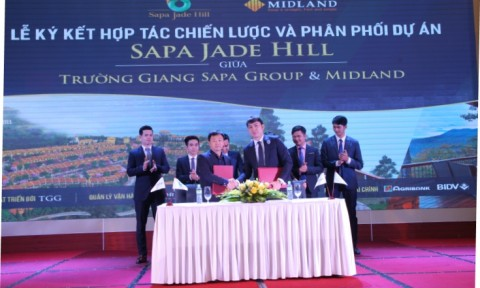 Midland ký kết độc quyền phân phối dự án Sapa Jade Hill tại Lào Cai