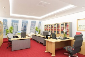 Cách bố trí văn phòng phù hợp với môi trường làm việc