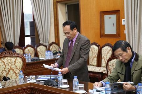Ông Phạm Văn Châm – Chủ tịch Huyện Đông Anh phát biểu tại Hội thảo
