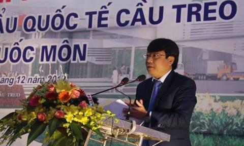 Phó Thủ tướng Vương Đình Huệ dự khánh thành Nhà liên hợp Cửa khẩu Quốc tế Cầu Treo kết hợp Quốc môn