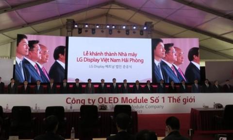 Thủ tướng Nguyễn Xuân Phúc dự lễ khánh thành 2 dự án lớn tại Hải Phòng