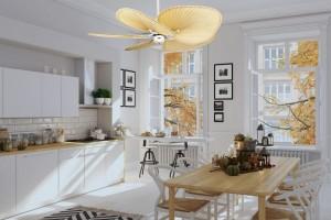 Quạt trần – từ vật dụng thiết yếu cho gia đình đến giải pháp nội thất