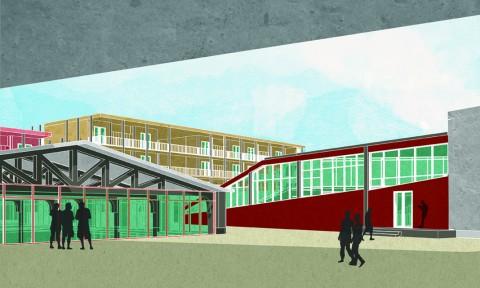 Không gian công cộng 'Hanoi Education Centre'