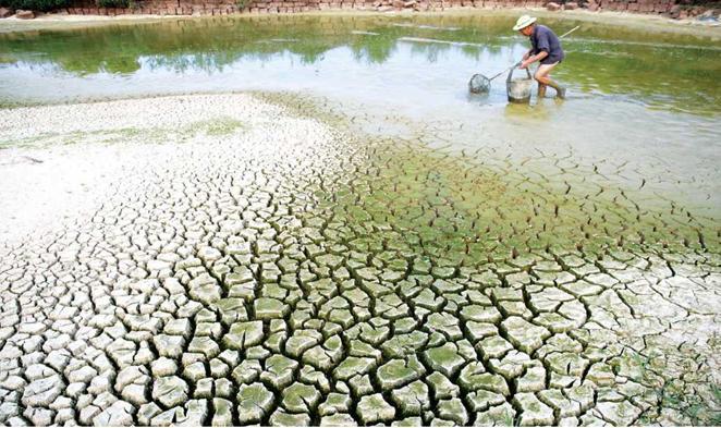 Hiện tượng hạn hán do tác động của biến đổi khí hậu tại vùng ĐBSCL