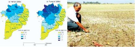 Dự báo ngập lũ vùng ĐB SCL 2090 của Viện KH Thuỷ lợi VN và khô hạn 2016