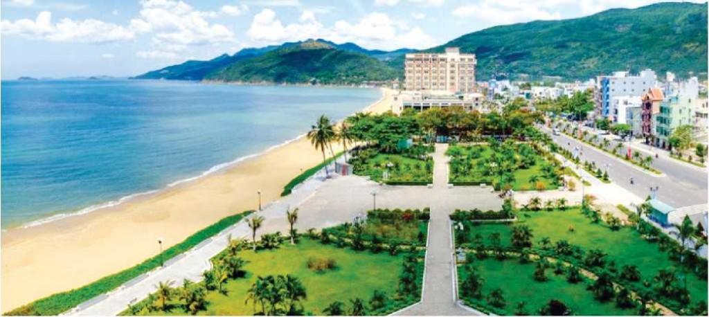 Không gian xanh công cộng ven biển tại TP Quy Nhơn đóng vai trò Là vùng đệm chuyển tiếp hạn chế tác động của thiên tai với đô thị