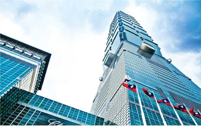Thiết kế các vát góc gấp khúc để hạn chế hiện tượng gió xoáy tại tháp cao tầng Taipei 101 (Đài Loan)