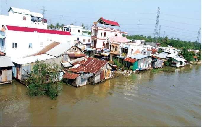 Kịch bản xâm nhập mặn vùng ĐBSCL do Bộ Tài nguyên môi trường thiết Lập năm 2009