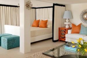 """""""Mẹo"""" thiết kế giúp không gian phòng ngủ thông thoáng"""