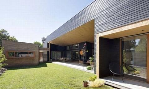 Ngôi nhà năng lượng mặt trời thụ động không cần sử dụng điều hòa