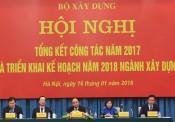 Thủ tướng dự và chỉ đạo Hội nghị tổng kết Bộ Xây dựng