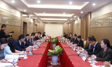Việt Nam và Lào ký thỏa thuận liên quan đến Dự án xây dựng Nhà Quốc hội Lào mới