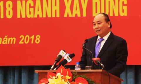 Thủ tướng Nguyễn Xuân Phúc: Bộ Xây dựng đi đầu trong rà soát, cắt giảm thủ tục hành chính