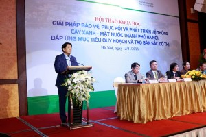 Hà Nội đặt mục tiêu xây dựng 3 công viên đạt tiêu chuẩn quốc tế