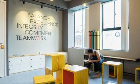 Not an Office – Giải pháp tích cực cho mô hình văn phòng cứng nhắc